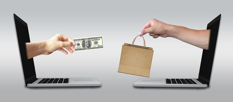 ecommerce selling goods online