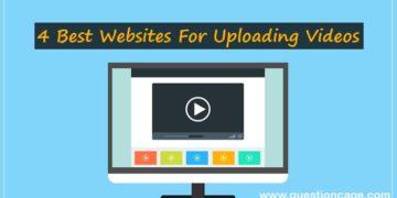 Best Websites For Uploading Videos