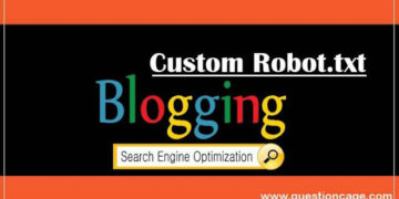How To Add Custom Robot.txt in Blogger