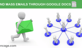 Create Mail Merge In Gmail With Google Spreadsheet To Send Mass Emails