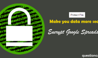 How To Password Protect Google Sheet
