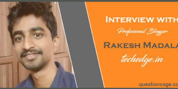Interview With Rakesh Madala Founder of Techedge