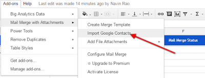 Mail Merge In Gmail With Google Spreadsheet