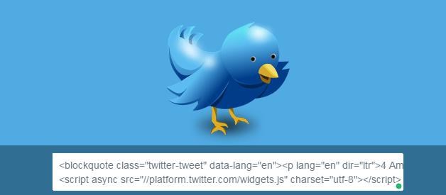 Embed a Tweet in WordPress