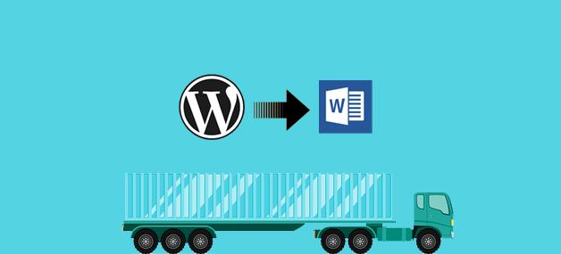 Export WordPress Post