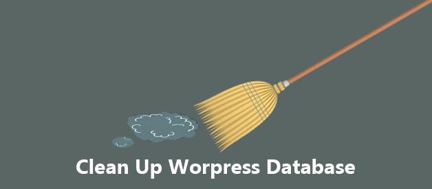 cleanup Wordpress Database