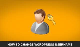 Change WordPress Username
