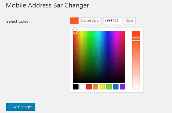 How to Change Chrome Address bar color in your WordPress website
