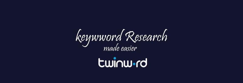 TwinWord Keyword Research Tool