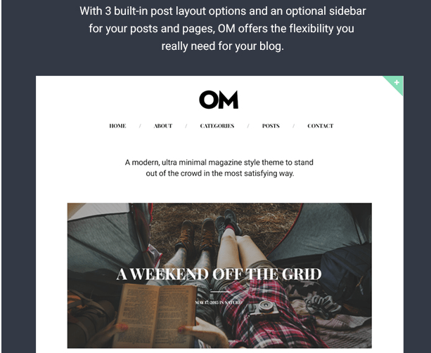 OM WordPress theme