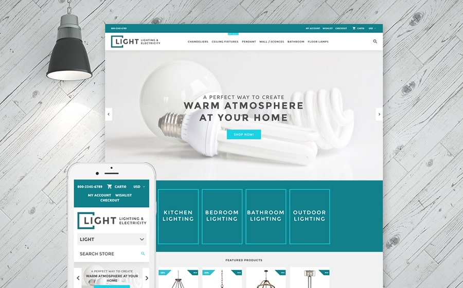 Light Company Shopify Theme