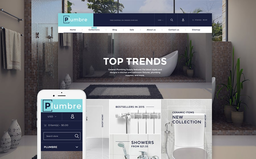 Plumbre Supply Shopify Theme