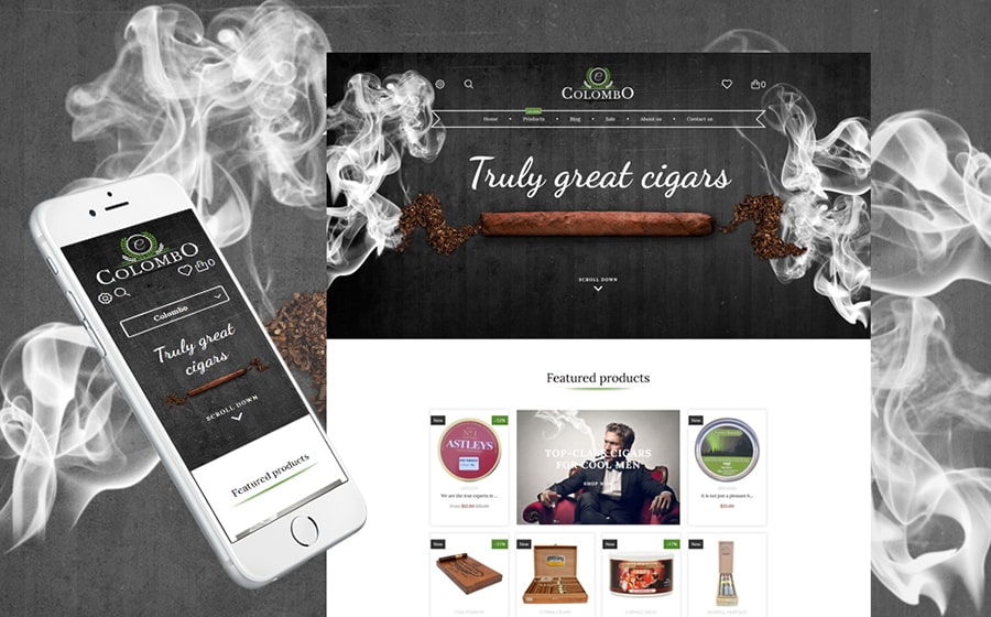 Tobacco Shop Shopify Theme