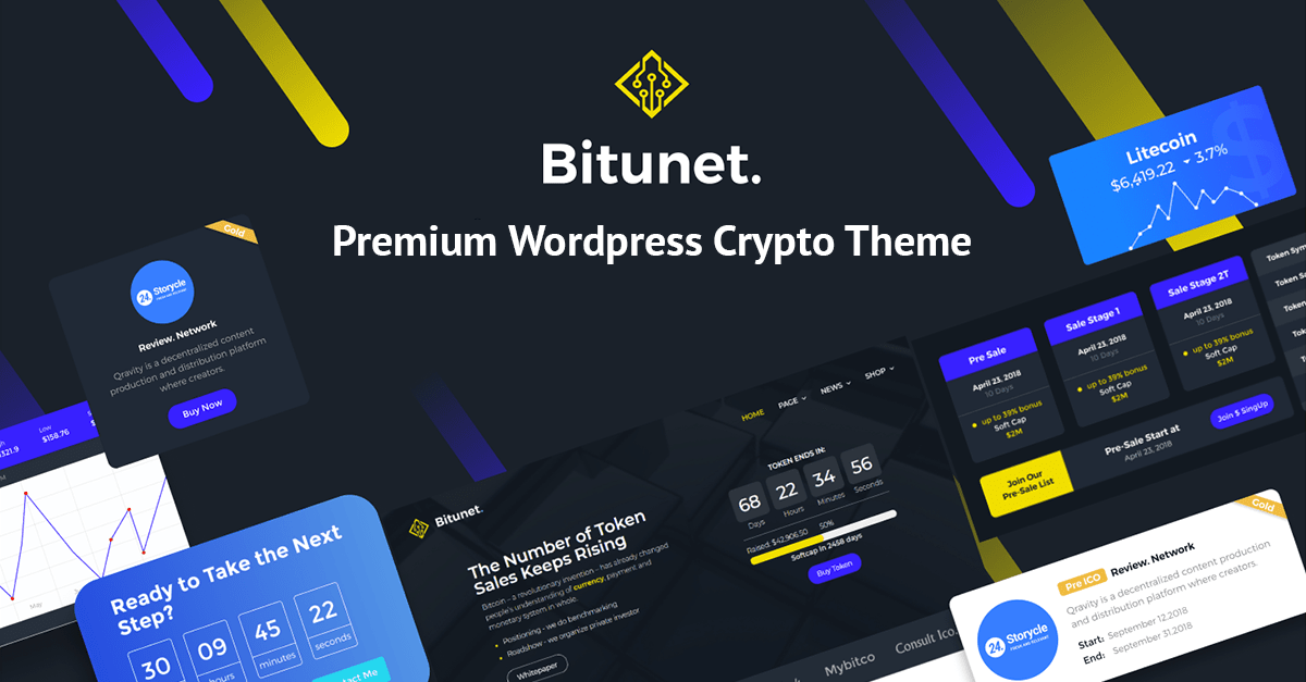 Bitunet - Cryptocurrency Elementor WordPress Theme.png
