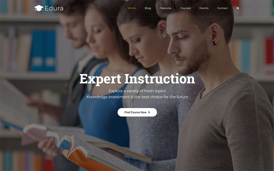 Edura-LearnPress Education WordPress Theme