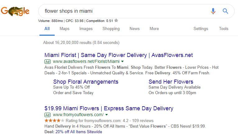 flower shops in miami