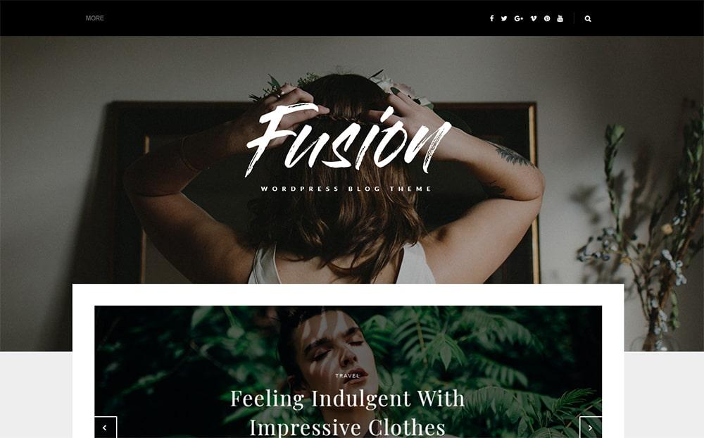 Fusion WordPress Blog Theme