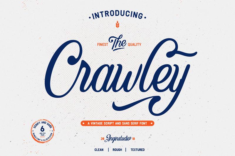 Crawley Script Font