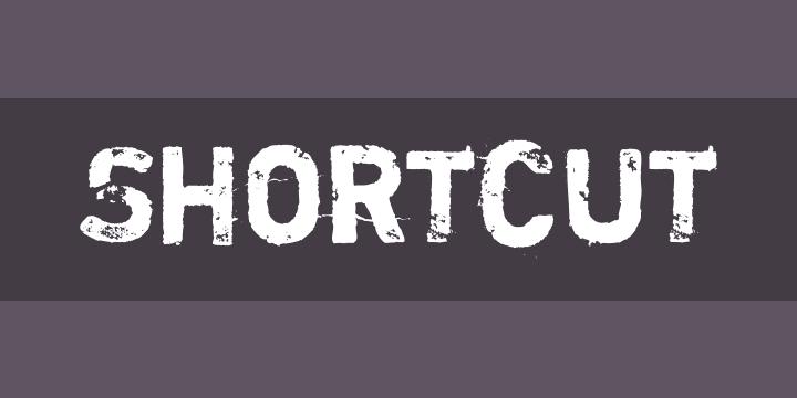 Shortcut Font