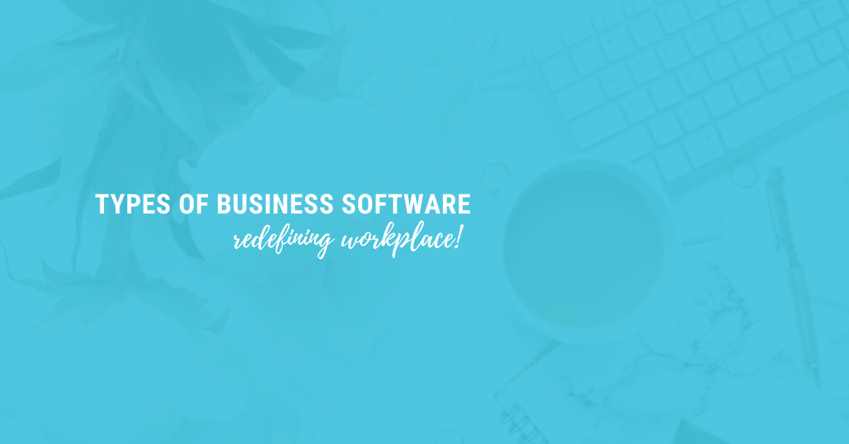 Types of business Softwares