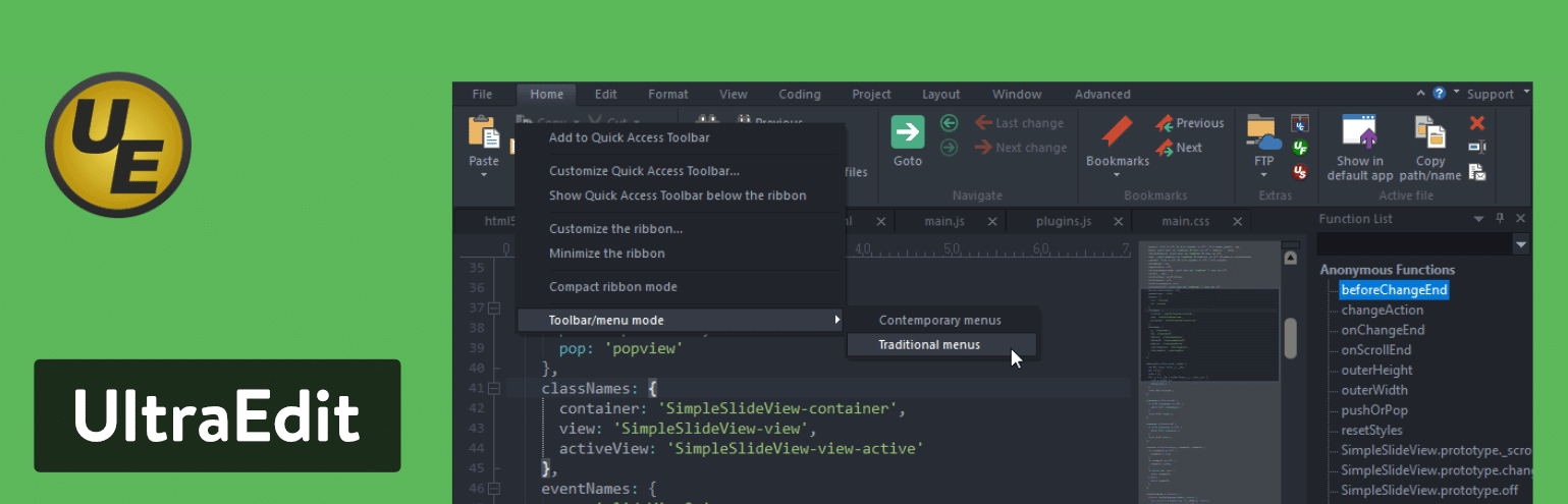 Ultraedit Text Editor